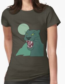 panther shirt, gravity falls Womens Fitted T-Shirt