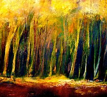Trees...The Edge of the Forest by ©Janis Zroback