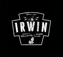 Ashton Irwin White Logo by stylinson