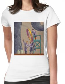 The Elephant in the Room Womens Fitted T-Shirt
