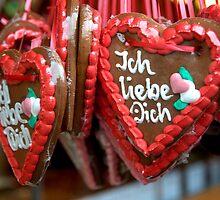 Gingerbread Hearts by Klaus Offermann