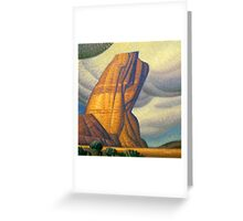 Labor Rock Greeting Card