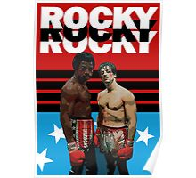 ROCKY the ultimate classic underdog movie T-SHIRT Poster