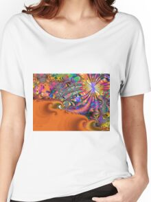 At the Seaside Women's Relaxed Fit T-Shirt