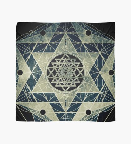 Sacred Geometry for your daily life Scarf