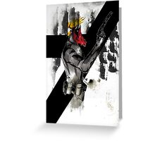 Grifter Greeting Card