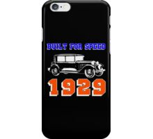 1929 SALOON iPhone Case/Skin