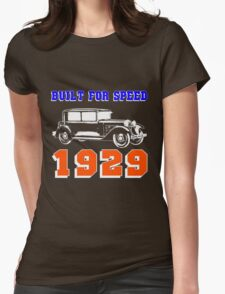 1929 SALOON Womens Fitted T-Shirt