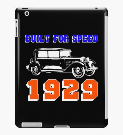 1929 SALOON iPad Case/Skin