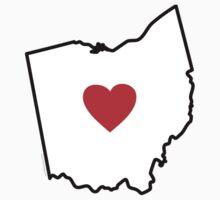I Love Ohio Kids Clothes