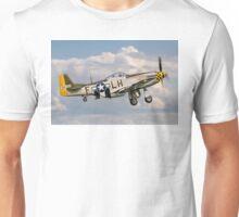 "P-51D Mustang 45-15118/LH-F G-MSTG ""Janie"" Unisex T-Shirt"
