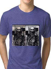 The Original Skull Girl Tri-blend T-Shirt