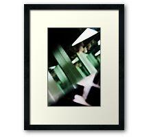 Sliding Doors Framed Print
