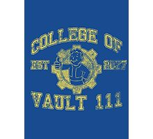 College of Vault 111 - Fallout 4 Photographic Print