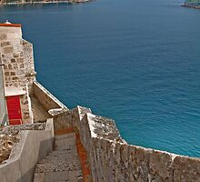 The Walls of Dubrovnik by vadim19