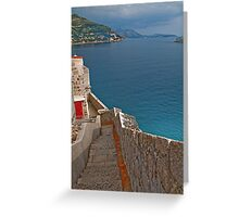 The Walls of Dubrovnik Greeting Card