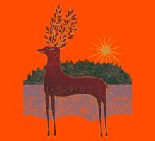 Deer in Sunlight Kids Clothes