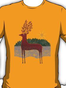 Deer in Sunlight T-Shirt