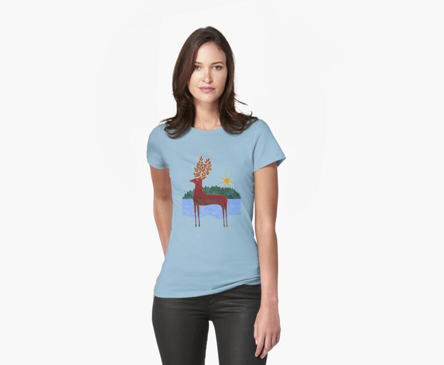 Deer in Sunlight by SusanSanford