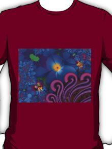 Blue Rainbow Garden T-Shirt