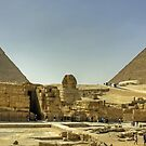 The Giza Plateau by Tom Gomez