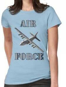 Air Force C-130 Womens Fitted T-Shirt
