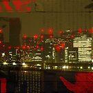 Tokyo night by Laurent Hunziker