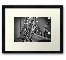 Dressing rooms Framed Print