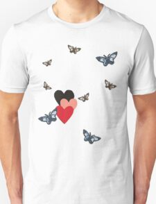 I Heart Butterflies T-Shirt