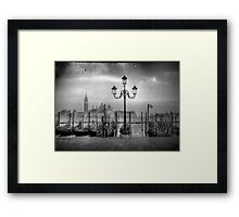 Lovers in Venice Framed Print