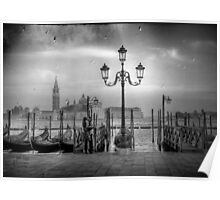 Lovers in Venice Poster