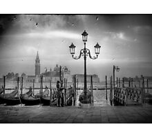 Lovers in Venice Photographic Print