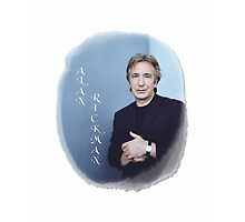 Alan Rickman - Blue Cloud by scatharis