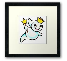 Princess Ghost Framed Print