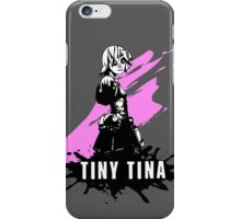 Tiny Tina (Colored BG) iPhone Case/Skin