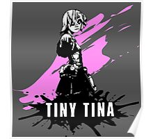 Tiny Tina (Colored BG) Poster