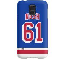 New York Rangers Rick Nash Jersey Back Phone Case Samsung Galaxy Case/Skin