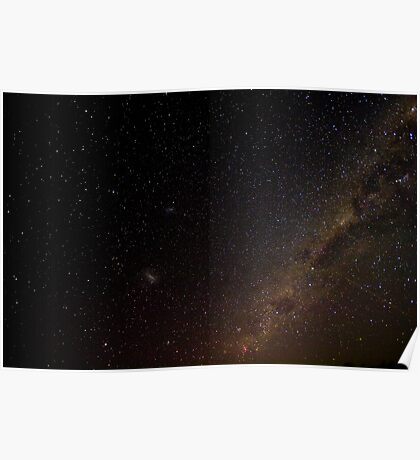 Southern Sky at Night Poster