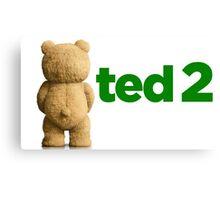 Ted 2 Merch Canvas Print