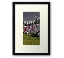 VW back sides Framed Print