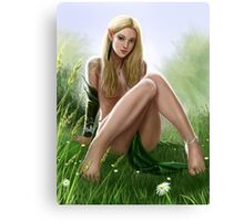 Elf Pinup Canvas Print