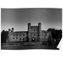 Battle Abbey Gatehouse (English Heritage) Poster