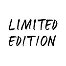 Limited Edition by beakraus