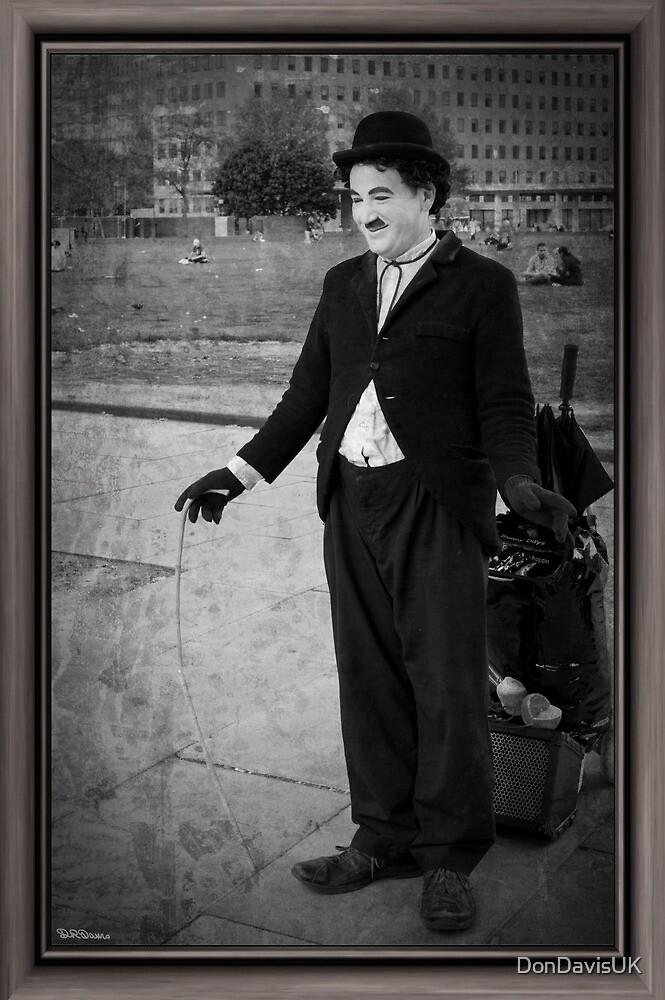 Charlie Chaplin by DonDavisUK