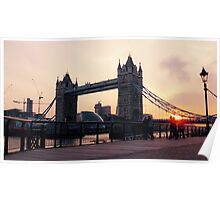 Tower Bridge at Sunset Poster