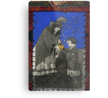 Kublai Khan and his Nurse Metal Print