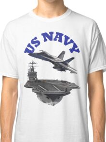 F/A-18 Hornet and the USS Harry S. Truman Classic T-Shirt