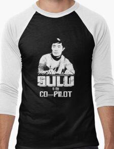 Sulu is My Co-Pilot Men's Baseball ¾ T-Shirt