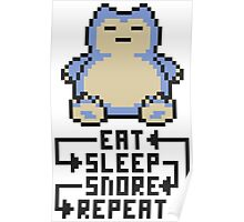 The Snorlax Song Poster