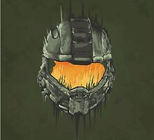 Master Chief Helmet by WondraBox